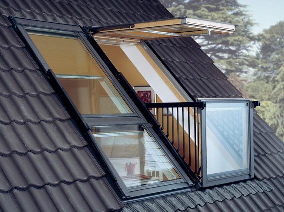 Балкон с крышей своими руками